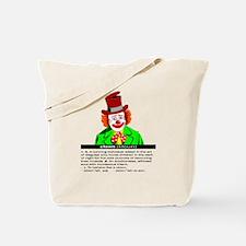 Clown (kloun) Tote Bag