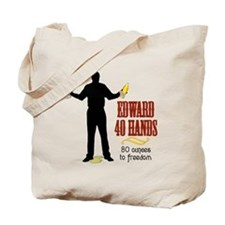 Edward 40 hands Tote Bag