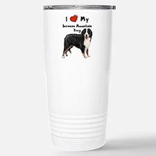 I Love My Bernese Mtn Dog Travel Mug