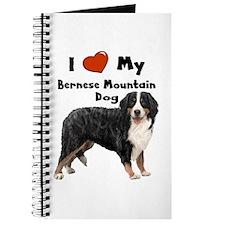 I Love My Bernese Mtn Dog Journal
