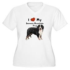 I Love My Bernese Mtn Dog T-Shirt