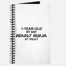 1-Year-Old Deadly Ninja by Night Journal