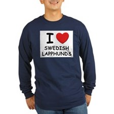 I love SWEDISH LAPPHUNDS T