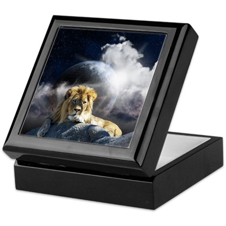 Leo Moon Keepsake Box