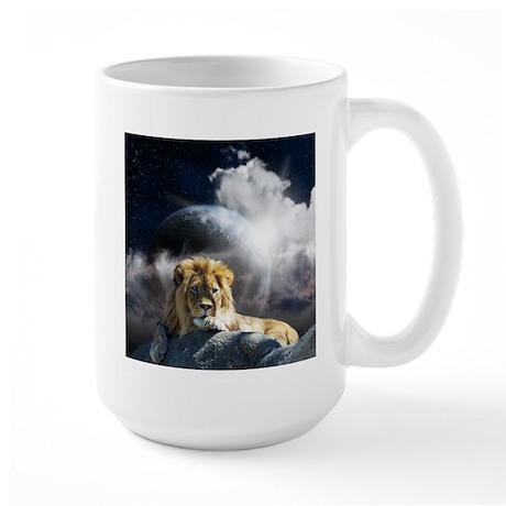 Leo Moon Large Mug