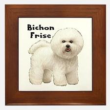 Bichon Frise Framed Tile