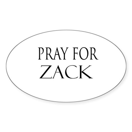 ZACK Oval Sticker