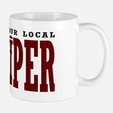Support Your Local Bagpiper Mug