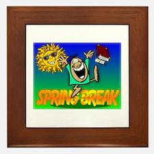 Spring Break Framed Tile