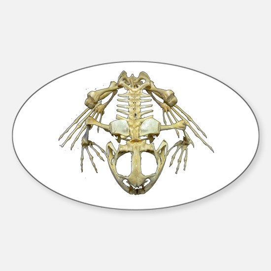 Starving Frog Oval Decal
