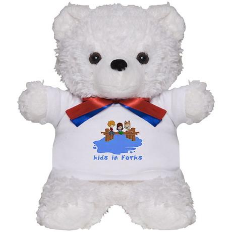 Kids in Forks Teddy Bear