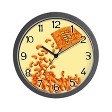 Cheesy Puffs Wall Clock