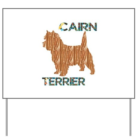 Cairn Terrier Yard Sign