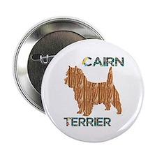 """Cairn Terrier 2.25"""" Button"""