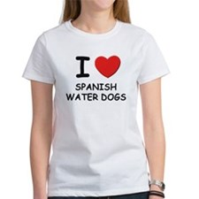 I love SPANISH WATER DOGS Tee