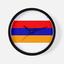 Armenian Flag Wall Clock