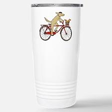 Dog & Squirrel Stainless Steel Travel Mug
