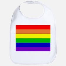 Gay Pride Flag Bib