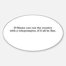 obama Oval Decal