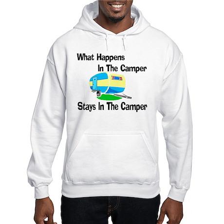 What Happens In The Camper Hooded Sweatshirt