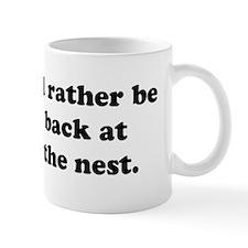 I'd rather be back at the nest gerbil mug