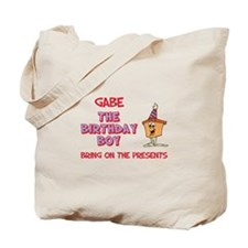 Gabe - The Birthday Boy Tote Bag