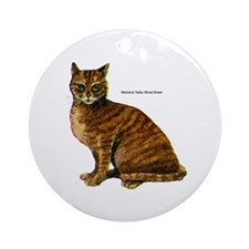 Mackerel Tabby Cat Keepsake (Round)
