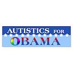 Autistics for Obama Bumper Sticker (10 pk)