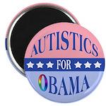 """Autistics for Obama 2.25"""" Magnet (10 pack)"""