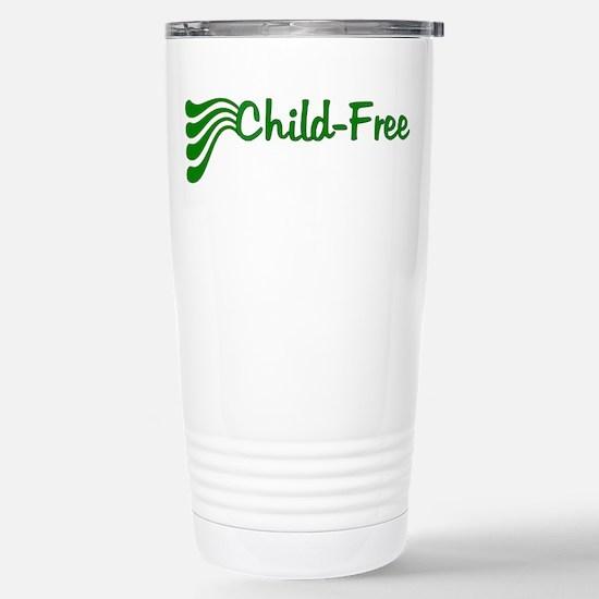 Child-Free Stainless Steel Travel Mug
