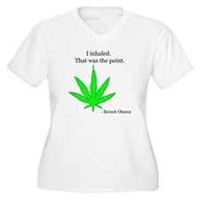 I Inhaled that Was The Point T-Shirt