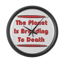 Breeding To Death Large Wall Clock
