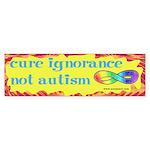 Cure Ignorance Bumper Sticker