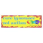 Cure Ignorance Bumper Sticker (10 pk)
