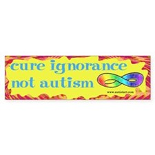 Cure Ignorance Bumper Sticker (50 pk)