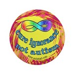 """Cure Ignorance 3.5"""" Button (100 pack)"""