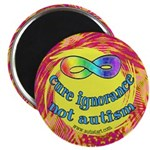 """Cure Ignorance 2.25"""" Magnet (10 pack)"""
