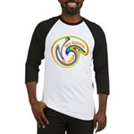 Cure Ignorance (Rainbow) Baseball Jersey