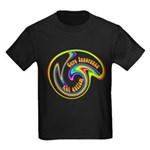 Cure Ignorance (Rainbow) Kids Dark T-Shirt