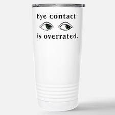 Eye Contact Stainless Steel Travel Mug