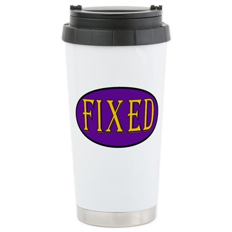 Fixed Stainless Steel Travel Mug