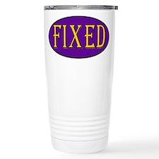 Fixed Travel Mug