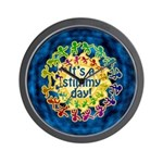 It's a Stimmy Day Wall Clock
