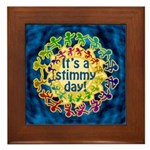 It's a Stimmy Day Framed Tile