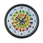 It's a Stimmy Day Large Wall Clock