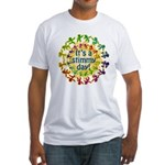 It's a Stimmy Day Fitted T-Shirt