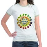 It's a Stimmy Day Jr. Ringer T-Shirt