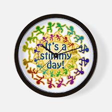 It's a Stimmy Day Wall Clock