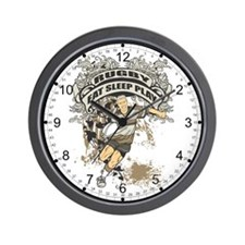 Eat, Sleep, Play Rugby Wall Clock