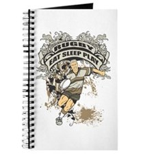 Eat, Sleep, Play Rugby Journal